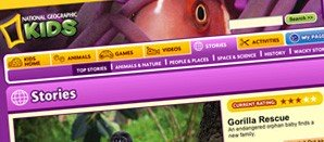 Thumbnail for the National Geographic Kids site
