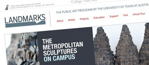 University of Texas Landmarks homepage