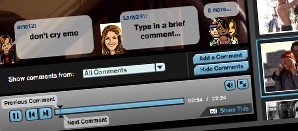 The Avatar Based Video Commenting application