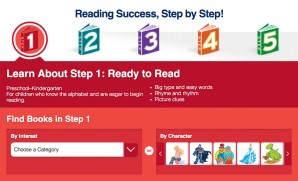Step Into Reading Main Image