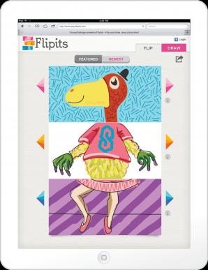 Flipits Main Screen