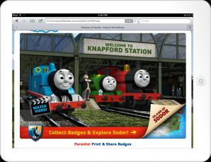 Knapford Station on Mobile
