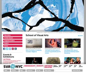 The SVA Homepage Title Image