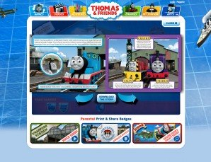 Thomas & Friends Interactive Booklet