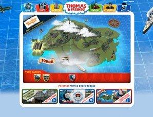 Thomas & Friends Map of Sodor