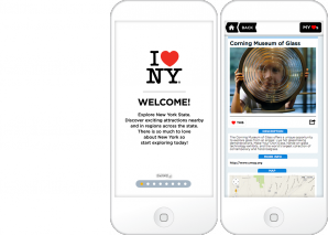 I Love NY App Mobile Screen