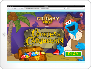 Cookie Quest Title Screen