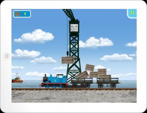 Thomas & Friends App Cranky's Dock Drop Game