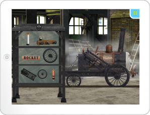 Thomas & Friends App Stephen Spruce up Game