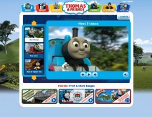 Thomas & Friends Video player
