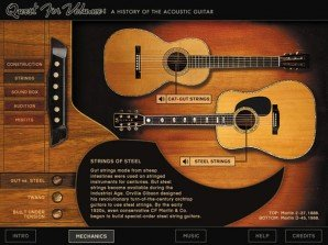 Interactive Acoutic Guitar Interface