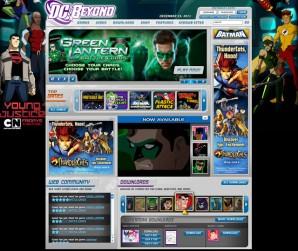 DC Beyond Cartoons and Comics Homepage