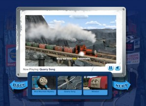 Video player overlay for the Blue Mountain Mystery
