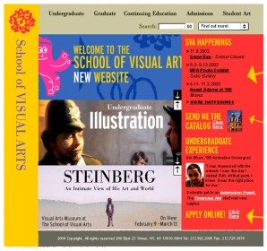 The 3 tiered landing page rotator for SVA