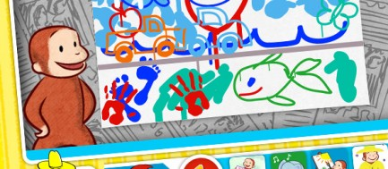Curious George: Art and Music Creation Tools
