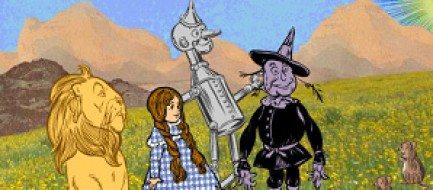 Thumbnail of the Wizard of Oz scene